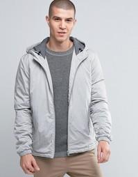 Куртка с капюшоном Selected Homme - Светло-серый