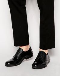Лакированные кожаные туфли дерби Shoe The Bear Morro - Черный