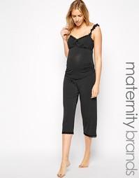 Пижамные брюки длиною 3/4 для беременных Cake Maternity Choc Vanilla