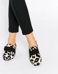Туфли на плоской подошве с эффектом ворса пони Senso Desiree I