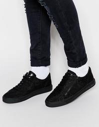 Кроссовки с бисерной отделкой Religion - Черный