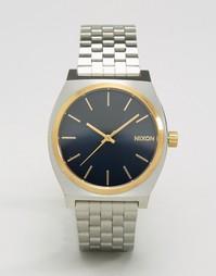 Часы Nixon Time Teller A045 1922 - Серебряный