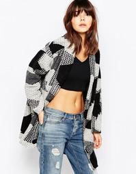 Жаккардовое пальто с геометрическим узором Native Youth