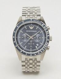 Наручные часы с хронографом Emporio Armani AR6072 - Серебряный