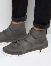 Высокие кроссовки Clarks Originals Trigenic - Серый
