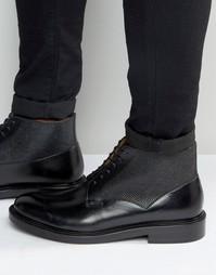 Ботинки со шнуровкой Paul Smith Munari - Черный