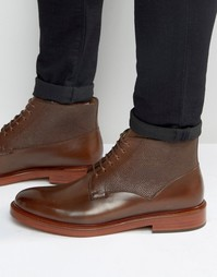 Ботинки со шнуровкой Paul Smith Munari - Рыжий