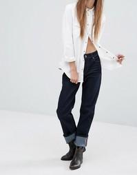 Прямые джинсы с классической талией Diesel Reen - Синий