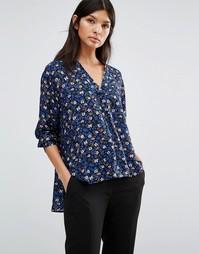 Блузка с длинными рукавами и цветочным принтом PS By Paul Smith - 53