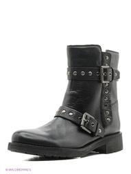 Черные Ботинки GEOX