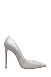Серебристые Кожаные туфли Le Silla