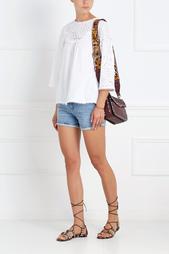 Хлопковая блузка Сell MiH Jeans