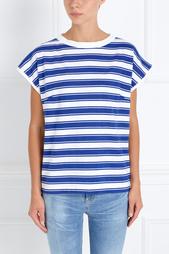 Хлопковая футболка Plage Tee MiH Jeans