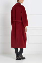 Пальто из ламы и шерсти Victoria Andreyanova