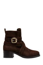 Замшевые ботинки Le Silla