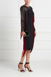 Платье из шерсти и шелка Daria Bardeeva