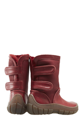 Кожаные сапоги Pom Dapi