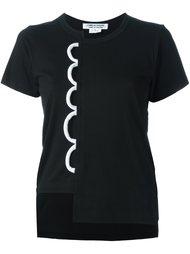 футболка с фестонами Comme Des Garçons Comme Des Garçons