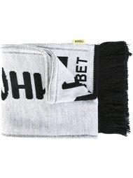 шарф с принтом логотипа  Gosha Rubchinskiy ГОША РУБЧИНСКИЙ