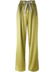 широкие брюки с бантом спереди Etro