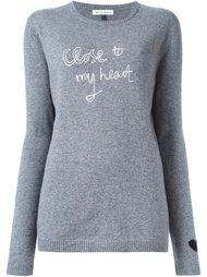 свитер с круглым вырезом  Bella Freud