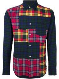 patchwork plaid shirt Comme Des Garçons Shirt Boy