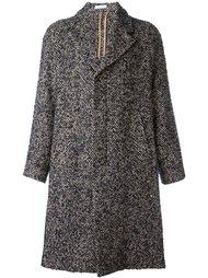 однобортное пальто Boglioli