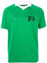 футболка с контрастной окантовкой  Palm Angels