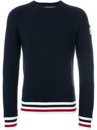 свитер в рубчик  Moncler Gamme Bleu