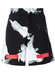 шорты с абстрактным принтом Off-White