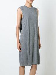 платье свободного кроя без рукавов T By Alexander Wang