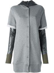многослойное пальто Mm6 Maison Margiela