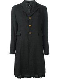пальто с плиссировкой  Comme Des Garçons Comme Des Garçons