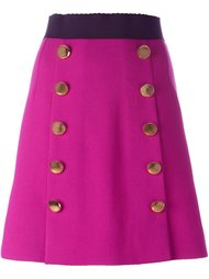юбка на пуговицах  Dolce & Gabbana