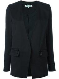 пиджак с глубоким V-образным вырезом Kenzo