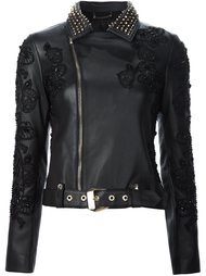embellished biker jacket Philipp Plein