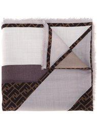 шарф с принтом-логотипом Fendi