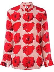 рубашка с узором 'rose' Ps By Paul Smith