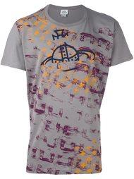 футболка с абстрактным принтом   Vivienne Westwood Man