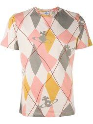 футболка с узором  Vivienne Westwood Man