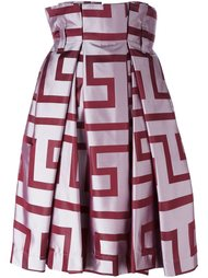 широкая юбка с абстрактным принтом Vivienne Westwood Anglomania