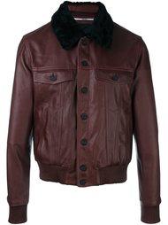 куртка-бомбер с шерстяным воротником  Kenzo