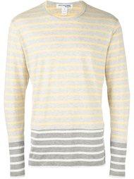 полосатая футболка с длинными рукавами Comme Des Garçons Shirt Boy