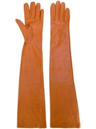 удлиненные перчатки Rochas