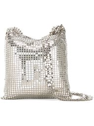 маленькая сумка с отделкой из кольчуги Paco Rabanne