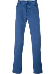 джинсы прямого кроя   Kiton