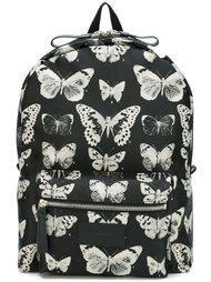 рюкзак с принтом бабочек Alexander McQueen