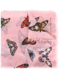 шарф 'Bejewelled Butterfly' Alexander McQueen
