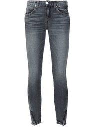 укороченные узкие джинсы Amo
