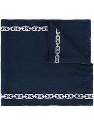 шарф с цепочным узором Céline Vintage